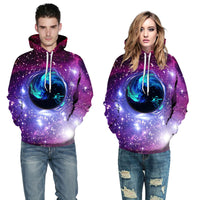 Black Hole Galaxy Hoodie - The Hoodie Store