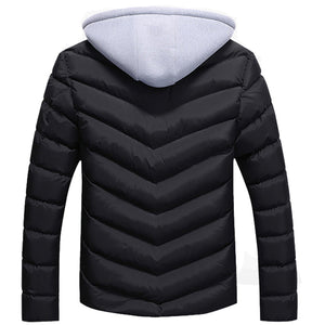 Men's Mountain Skin Cotton-Filling Jacket - The Hoodie Store