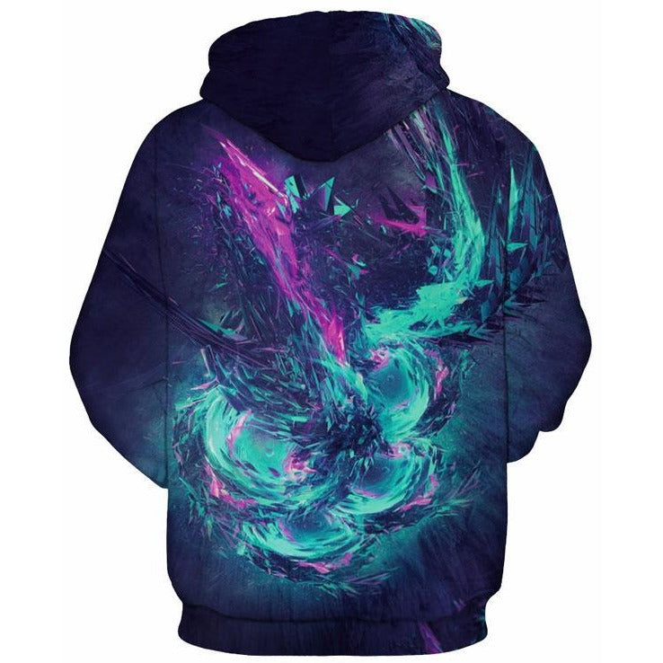 Mr.1991 Unisex Dreamy Colour Combinations Hoodie - The Hoodie Store