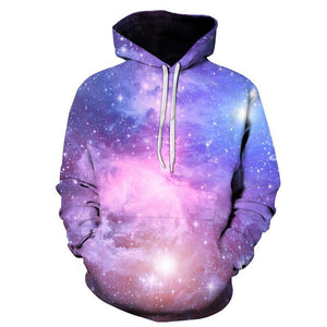 Pink Galaxy Space Hoodie - The Hoodie Store
