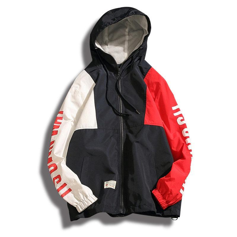 Aolamegs Patchwork Streetwear Hoodie - The Hoodie Store