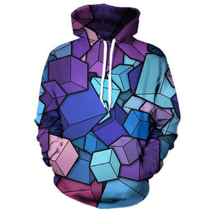 Cube Construction Hoodie - The Hoodie Store