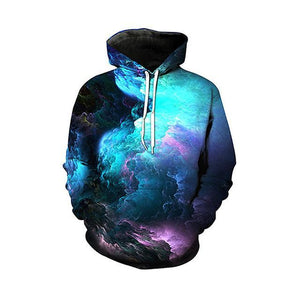 Colourful Cloud Galaxy Hoodie - The Hoodie Store