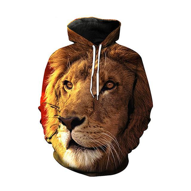 Brilliant Lion Hoodie - The Hoodie Store
