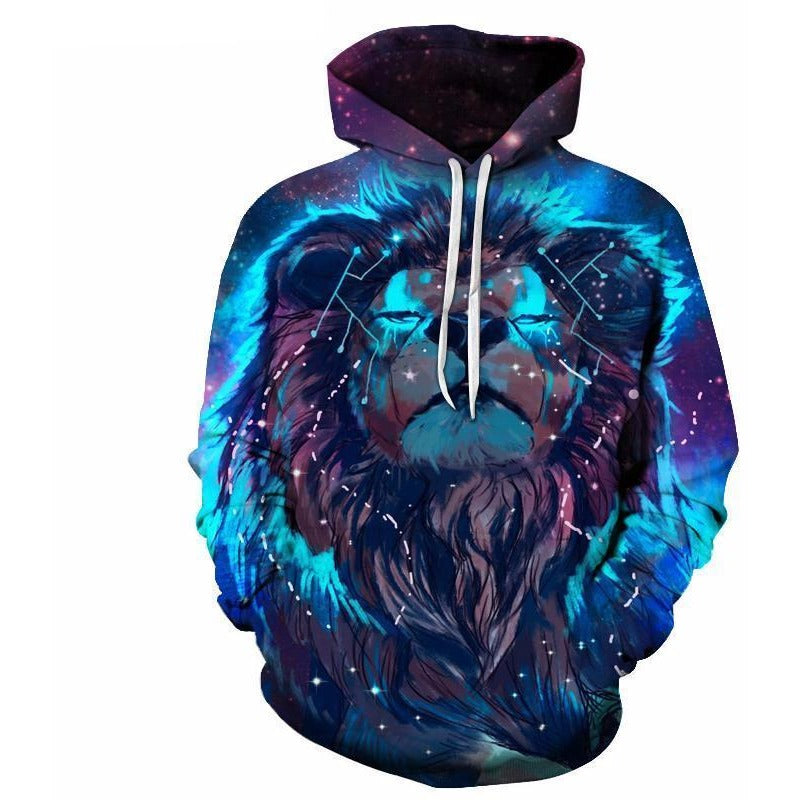 Lion Constellation Hoodie - The Hoodie Store