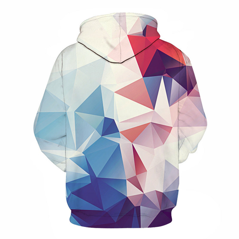 Mr.1991 Chromatic Geometry Hoodie - The Hoodie Store