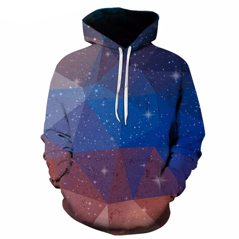 Geometric Space Art Hoodie - The Hoodie Store