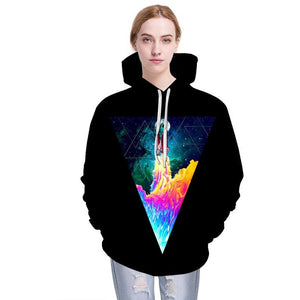 Unisex Space Shuttle Launch Hoodie - The Hoodie Store