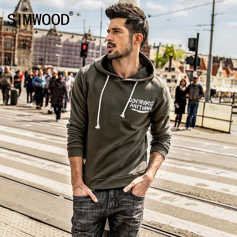 SIMWOOD 2017 100% Cotton 'Don't Expect Anything' Hoodie - The Hoodie Store