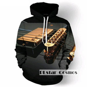 Electric Guitar Strings Hoodie - The Hoodie Store