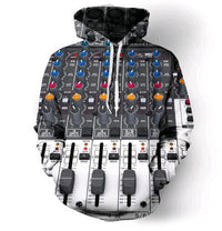 Electronic Mixing Desk Hoodie - The Hoodie Store