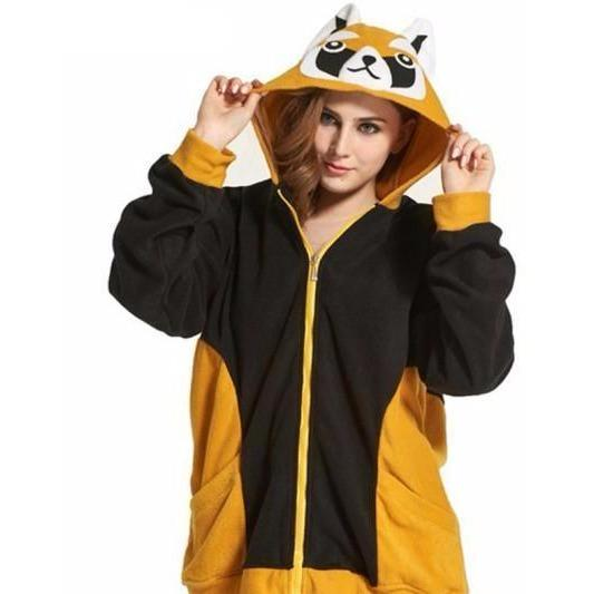 Raccoon Animal Theme Hoodie - The Hoodie Store