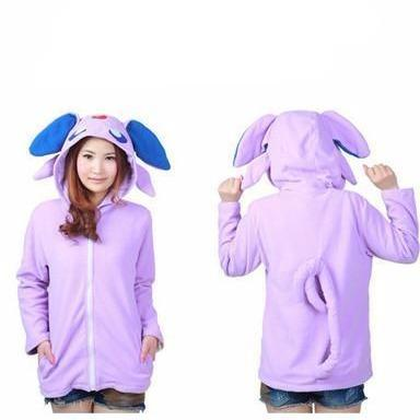 Espeon Animal Theme Hoodie - The Hoodie Store