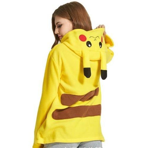 Pikachu Animal Theme Hoodie - The Hoodie Store