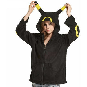 Yellow Umbreon Hoodie - The Hoodie Store