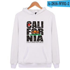 Retro California Republic Hoodie Sweatshirt