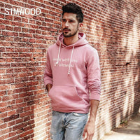 SIMWOOD 2017 Cotton Slim-Fit Casual Hoodie - The Hoodie Store