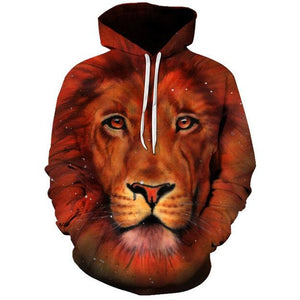 Orange Lion - The Hoodie Store