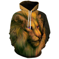 3D Lion Sketch - The Hoodie Store
