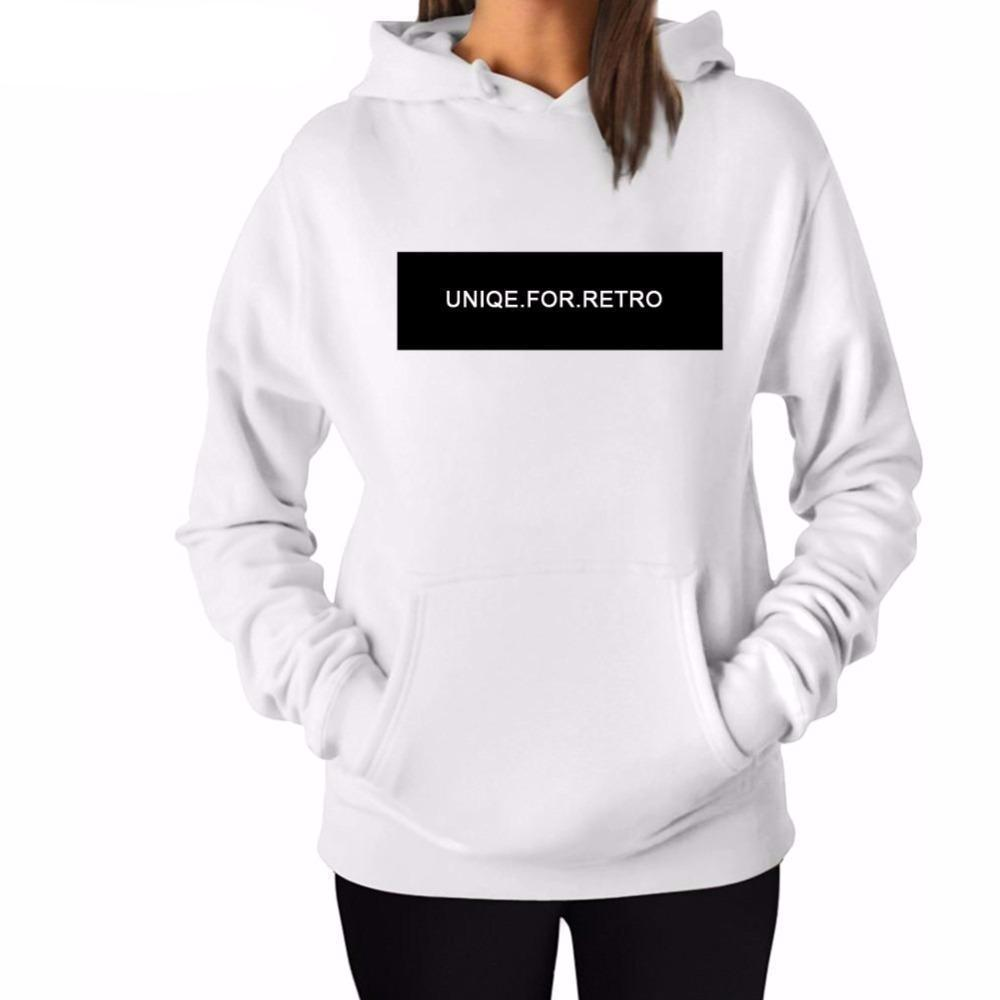 UNIQE FOR RETRO Print Hoodie - The Hoodie Store