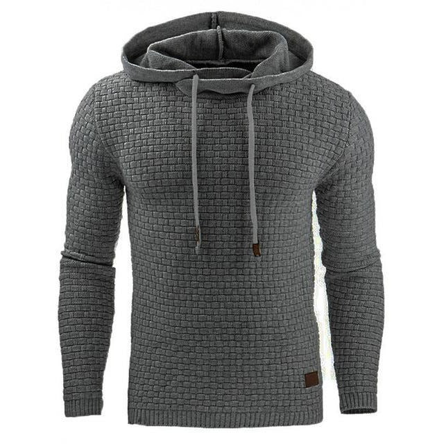 Men's New 2017 Handsome Wanderer Plaid Hoodie - The Hoodie Store