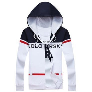 Men's Fashionable Autumn Zipper Hoodie - The Hoodie Store