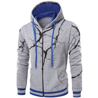 Men's Lightening Cardigan Winter Zipper - The Hoodie Store