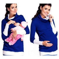 Women's Cotton Maternity Breastfeeding Hoodie - The Hoodie Store