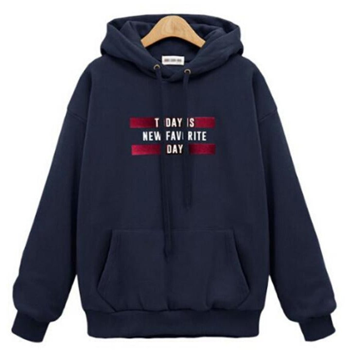 Women's Today Is New Favourite Day Hoodie - The Hoodie Store