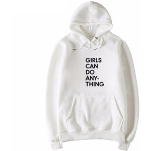Girls Can Do Anything Hoodie - The Hoodie Store