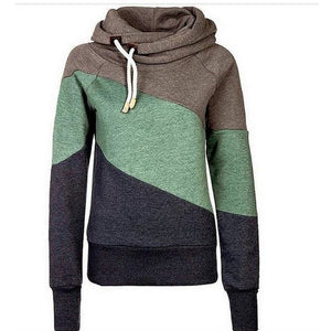 Womens Three Colour Shades Hoodie - The Hoodie Store