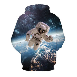 Astronaut In Space Hoodie - The Hoodie Store