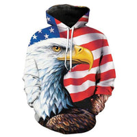 Patriot Eagle Eye Hoodie - The Hoodie Store