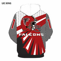 11 x Teams American Football Hoodies - The Hoodie Store