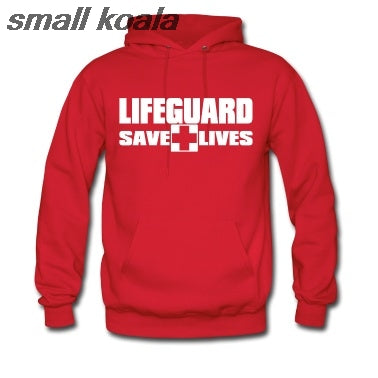 Men's/Women's Cotton Lifeguard Hoodie - The Hoodie Store