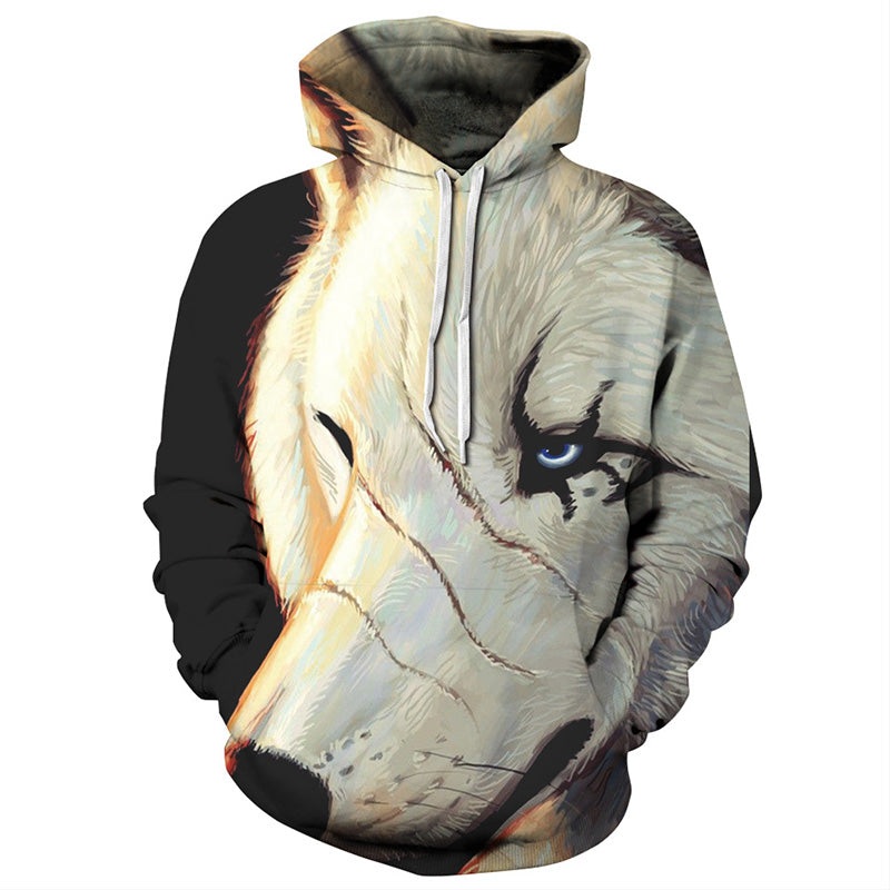 Scar face Wolf - The Hoodie Store
