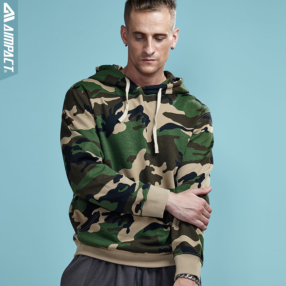 Aimpact Camouflage Hoodie - The Hoodie Store