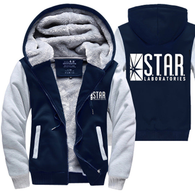 Star Laboratories Zipper Hoodie - The Hoodie Store