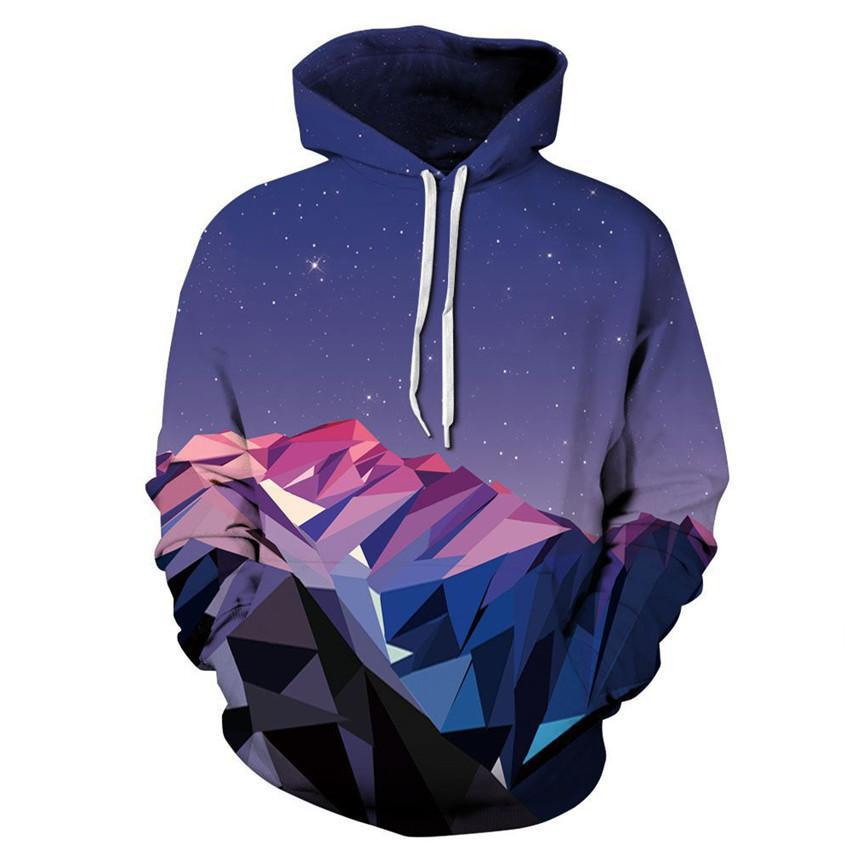 Mountain Geometry Hoodie - The Hoodie Store