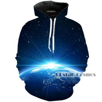 Rising Sun Planet Earth Hoodie - The Hoodie Store