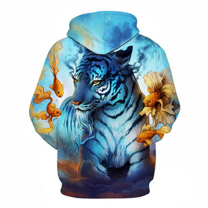 Evening Tiger Hoodie - The Hoodie Store