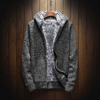 Fleece Cardigan Zipper Hoodie - The Hoodie Store