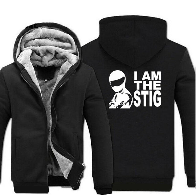Black and Grey Zipper Hoodie - The Hoodie Store