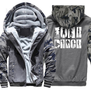 Thick Camouflage One Piece Fleece Hoodie - The Hoodie Store