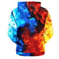 Ice and Fire Hoodie - The Hoodie Store