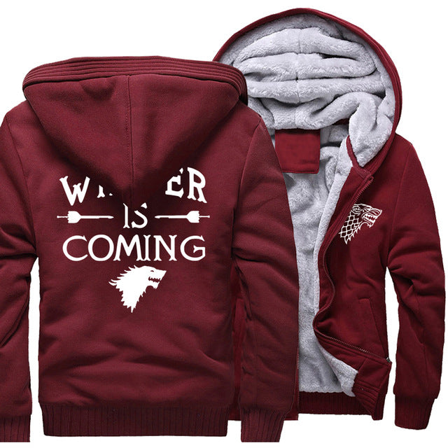 Winter Is Coming Fleece Hoodie - The Hoodie Store