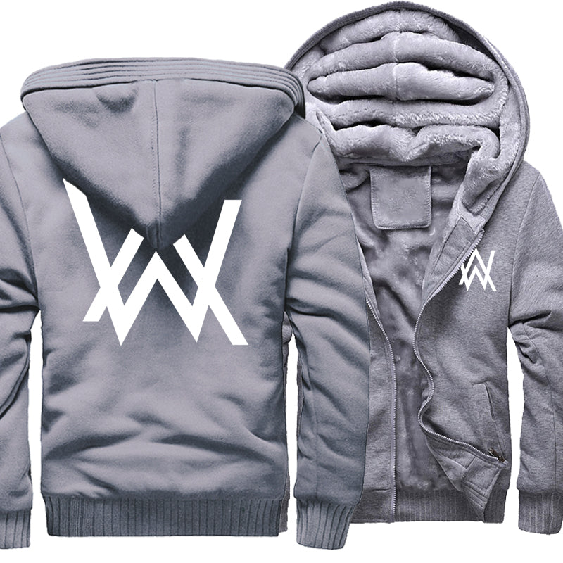 AW Fleece Zipper Hoodie - The Hoodie Store