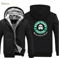 Star Wars Coffee Zipper Hoodie - The Hoodie Store