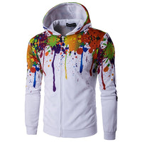 Multi-Colour Paint Variation Hoodie - The Hoodie Store