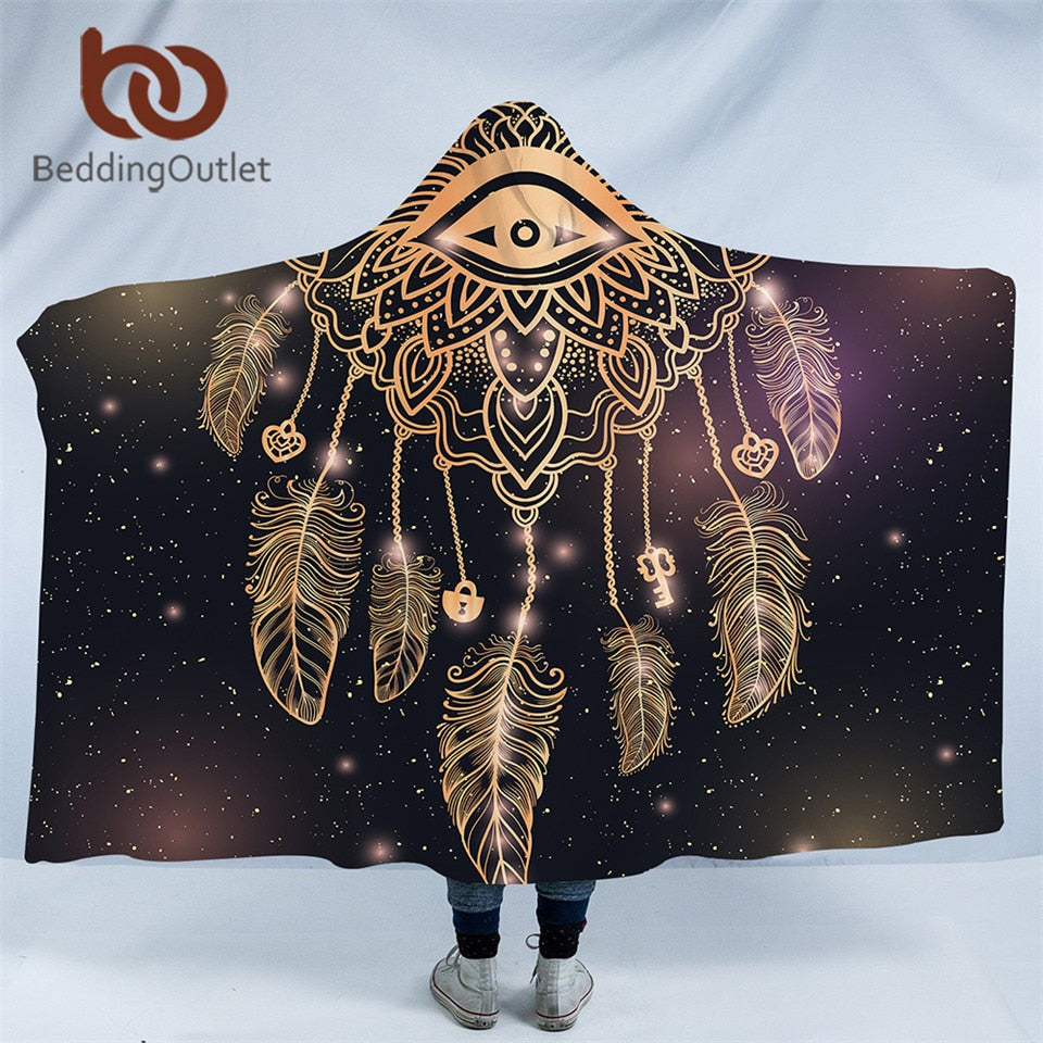 Dreamcatcher Hooded Blanket - The Hoodie Store
